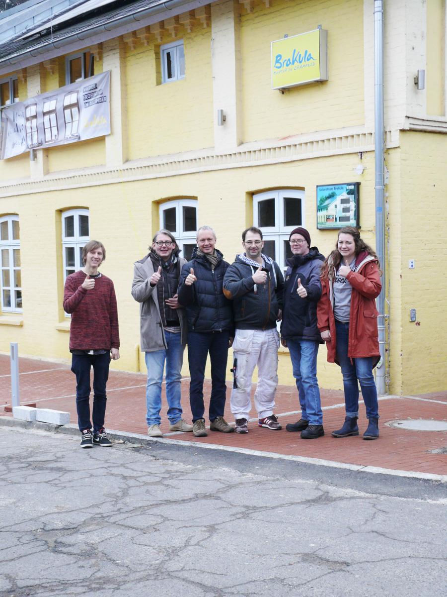Brakula erstrahlt in neuem Glanz – das Team freut sich