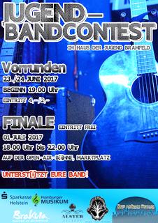 Jugend-Bandcontest im Haus der Jugend Bramfeld und Brakula e.V.
