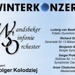 Einheizen beim Winterkonzert